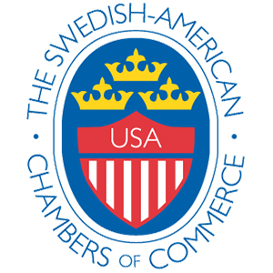 The Swedish American Chambers of Commerce Logo
