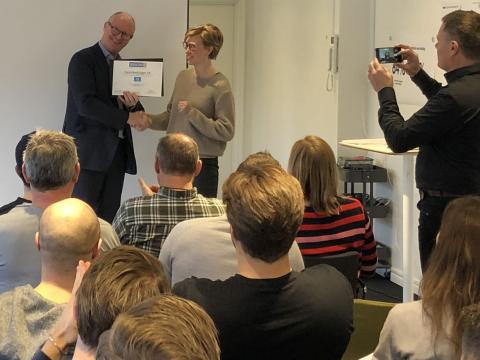 HLL receives innovation iq award