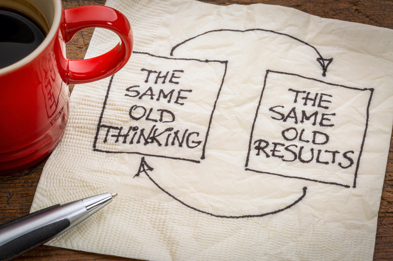 Same thinking - same result. Fix it with Innovation Feedback Loops.